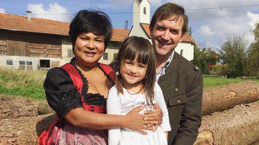 Narumol, Jorafina und Josef im August 2017