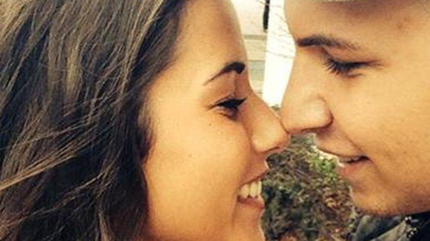 Näschen-Selfie! So verliebt sind Sarah & Pietro