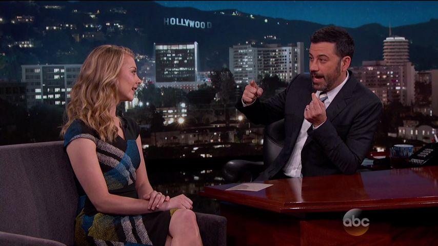 Jimmy Kimmel und Natalie Dormer