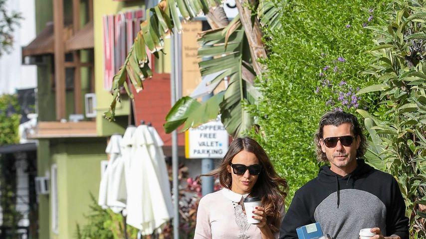 Natalie Golba und Gavin Rossdale in Los Angeles