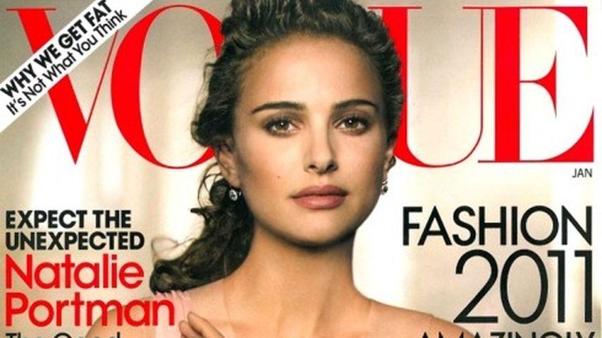 Natalie Portman als Ballerina auf dem Vogue-Cover