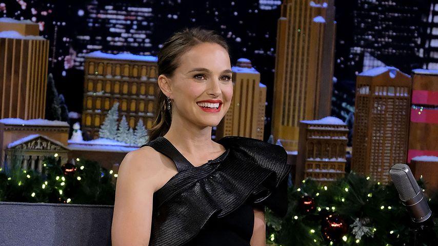 Natalie Portman in einer TV-Show