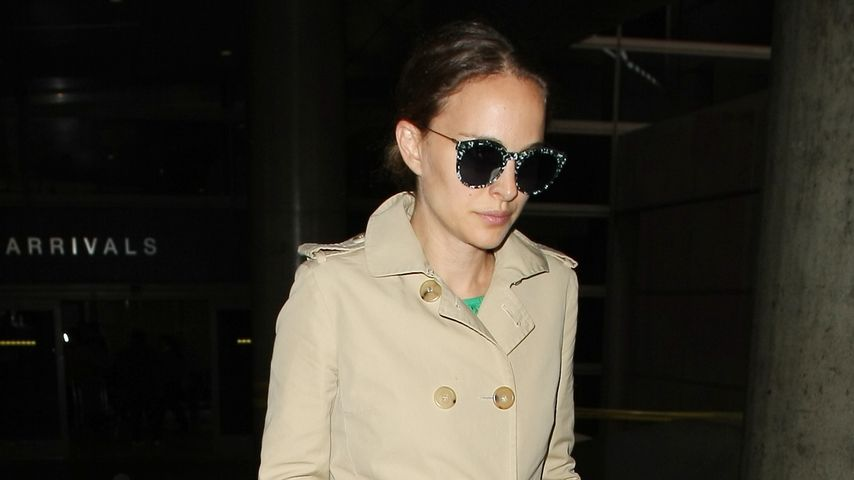 Natalie Portman am LAX in Los Angeles