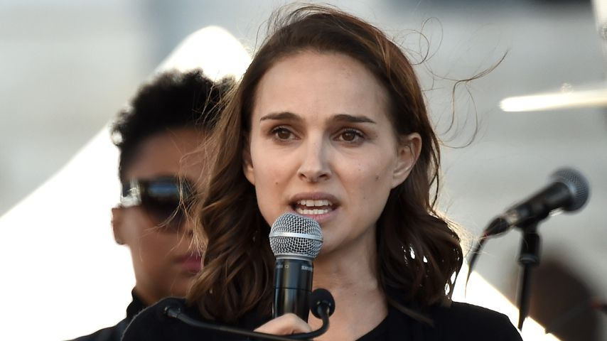Natalie Portman beim 2018 Women's March in Los Angeles