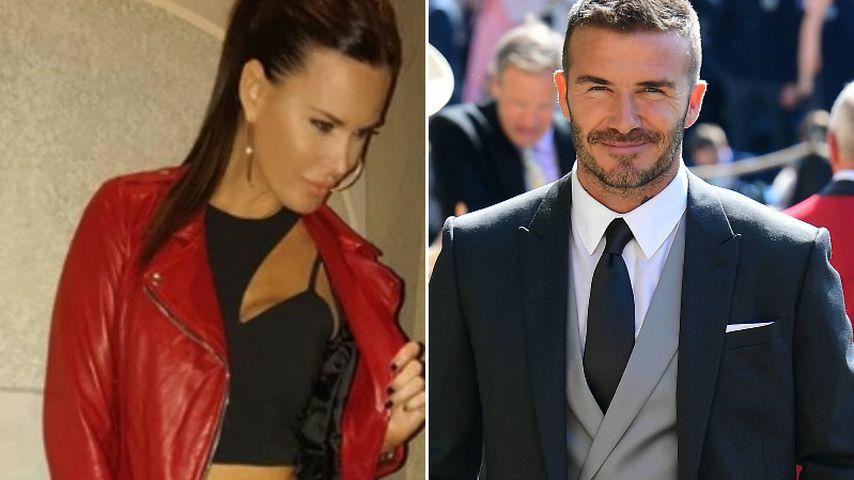 Sex-Träume: Diese Spielerfrau will mit Beckham ins Bett!