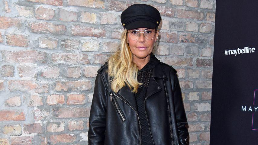 Natascha Ochsenknecht auf der Mercedes-Benz Fashion Week im Januar 2019