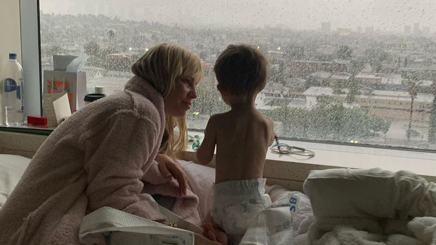 Natasha Bedingfield und ihr Sohn Solomon