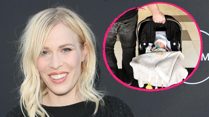 1. Babyfoto: Natasha Bedingfield bringt ihr Baby nach Hause!