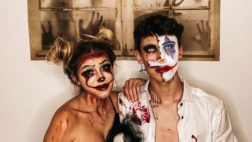 Nathalie Bleicher-Woth und Leon Content im Oktober 2020