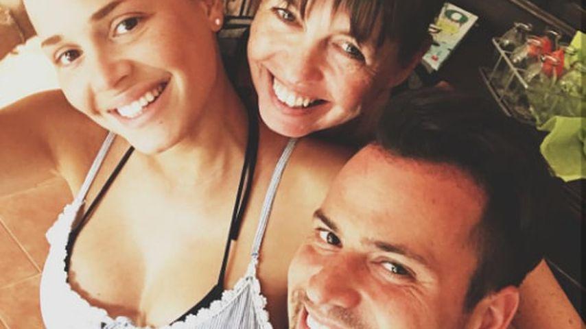 Nathalie, ihre Mutter und Rocco Stark