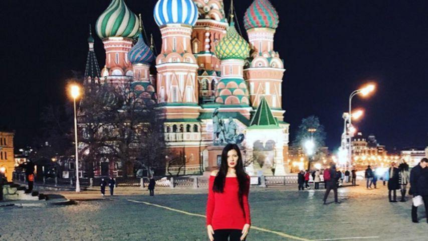 """""""Dschungelcamp""""-Nathalie Volk: Süße Model-Grüße aus Moskau"""