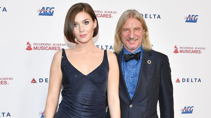 Nathalie Volk und Frank Otto im Januar 2020 in Los Angeles