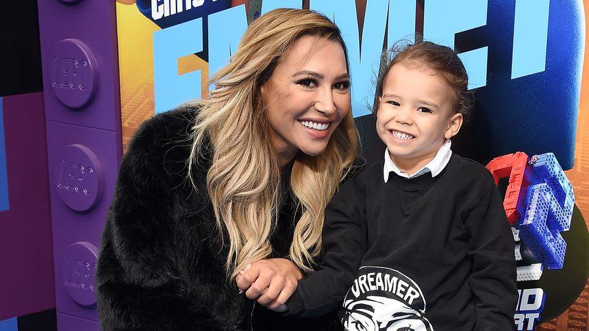 Naya Rivera und ihr Sohn Josey Hollis im Februar 2019