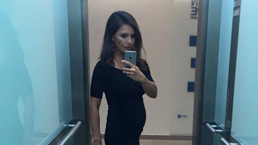Nazan Eckes mit Babybauch in ihrer zweiten Schwangerschaft