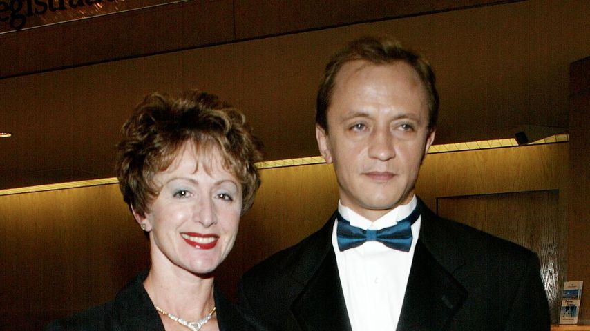 """NCIS: Los Angeles""-Star Ravil Isyanov und seine Frau, 2002"