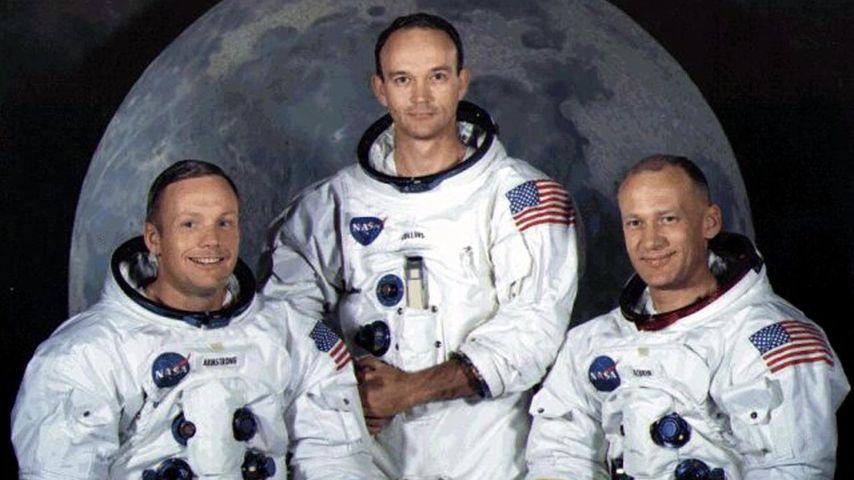 Neil Armstrong, Michael Collins und Buzz Aldrin
