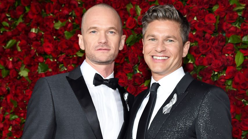 Neil Patrick Harris und David Burtka bei den Tony Awards 2016