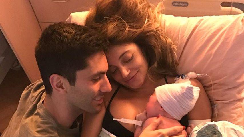 Nach witzigen Bauch-Pics: MTV-Star Nevs Baby ist da!
