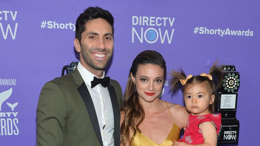 Nev Schulman und Laura Perlongo mit ihrer Tochter Cleo