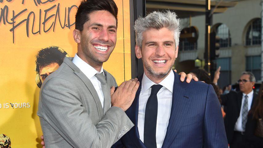 """Nev Schulman und Max Joseph, Moderatoren der TV-Show """"Catfish"""""""