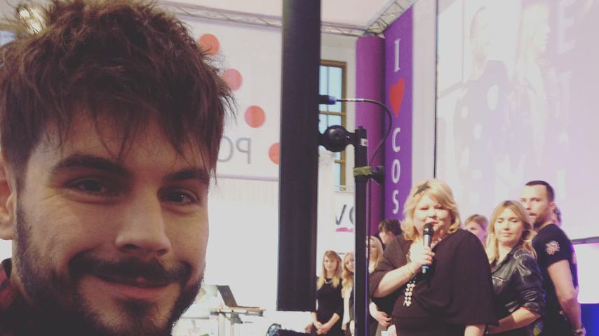 Nevio Passaro beim COSMETICA Newcomer Award 2016