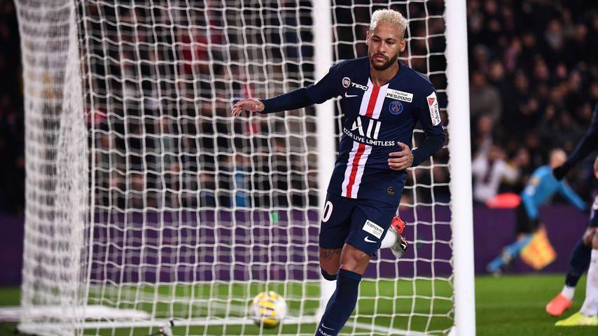 Neymar Jr. beim Spiel zwischen Paris Saint-Germain und AS Saint Etienne im Januar 2020