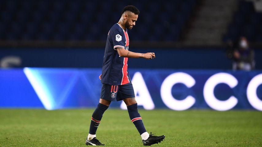 Neymar Jr. nach einem Fußballspiel in Paris im September 2020