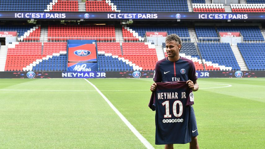 Neymar Jr. im Parc des Princes in Paris