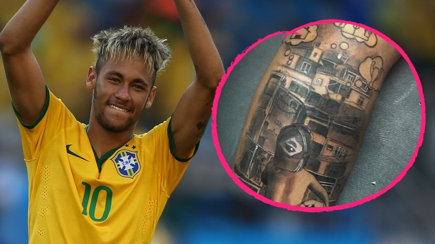 ein traum unter der haut wm held neymar zeigt neues tattoo. Black Bedroom Furniture Sets. Home Design Ideas
