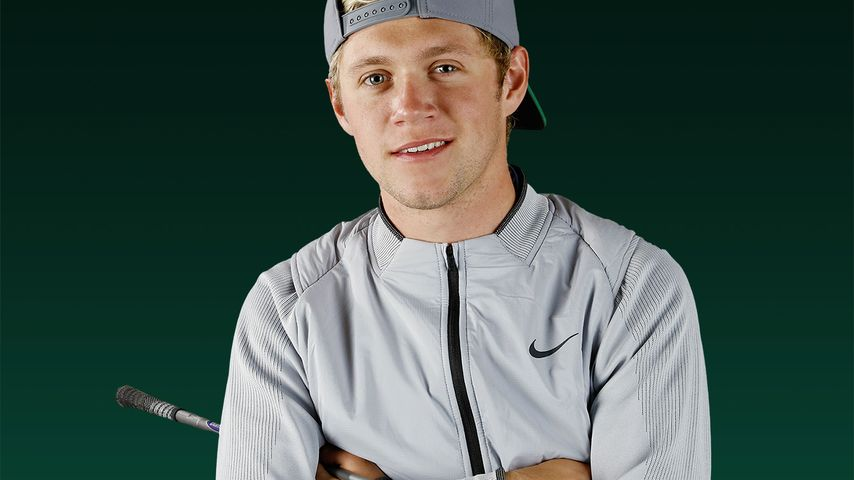 """Niall Horan beim Shooting für """"Today's Golfer"""""""