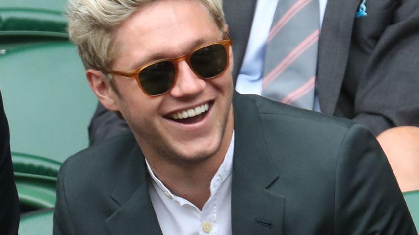 Niall Horan auf der Tribüne in Wimbledon