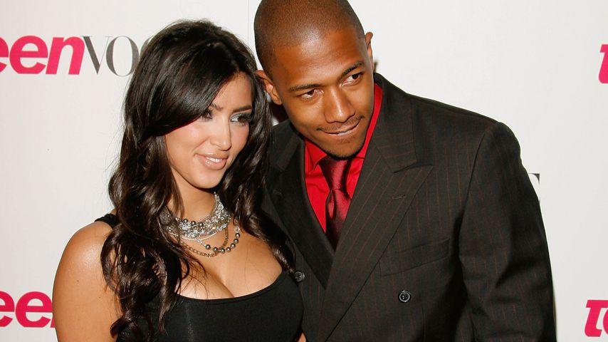 Kim Kardashian und Nick Cannon in West Hollywood, September 2006