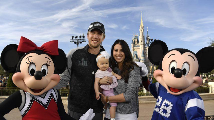Familie Foles in Disneyland