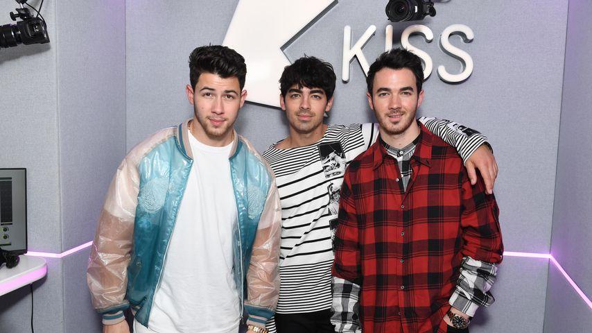 Nick, Joe und Kevin Jonas im Mai 2019
