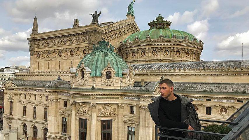 Nick Jonas in Paris
