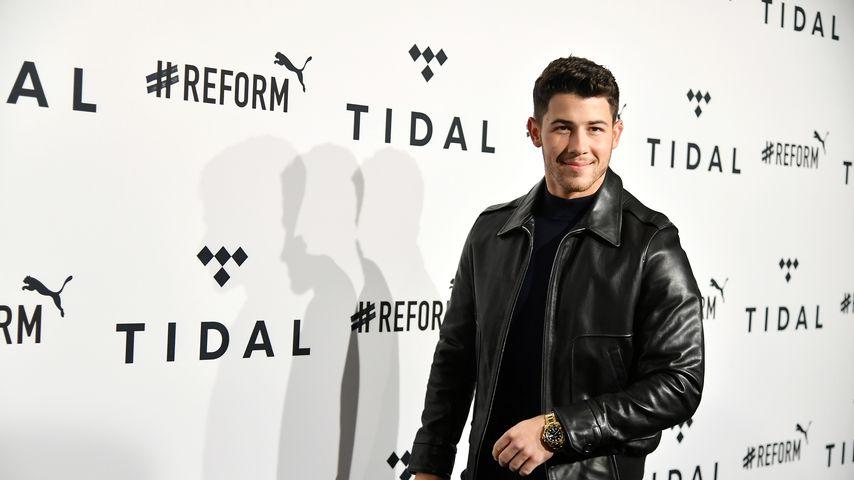 Musiker Nick Jonas bei einer Veranstaltung in New York