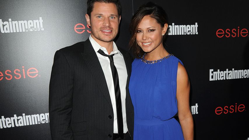 Nick und Vanessa Lachey bei einer Veranstaltung in Los Angeles 2014