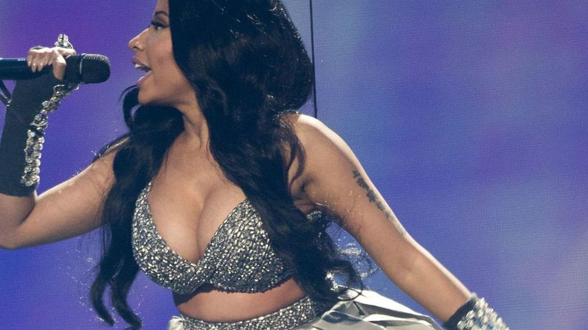 Nicki Minaj bei den EMAs
