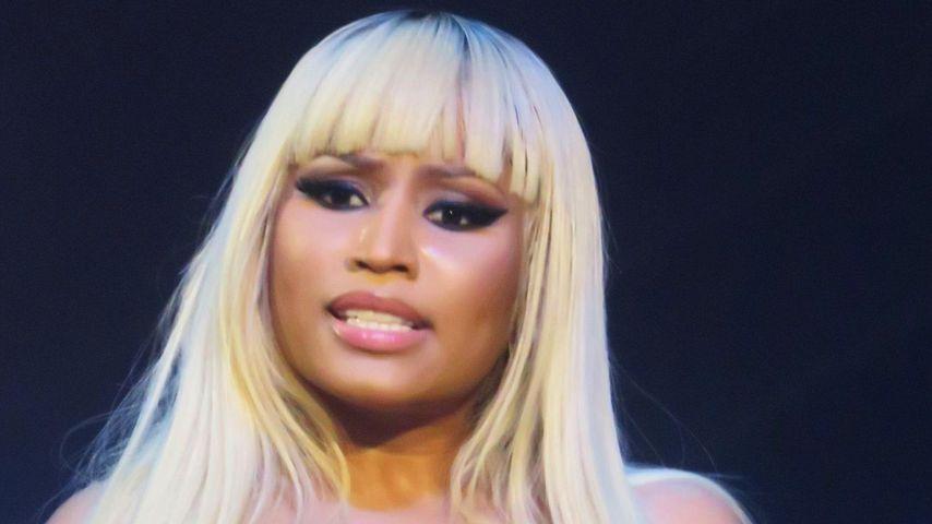 Nicki Minaj bei einem Auftritt in New York