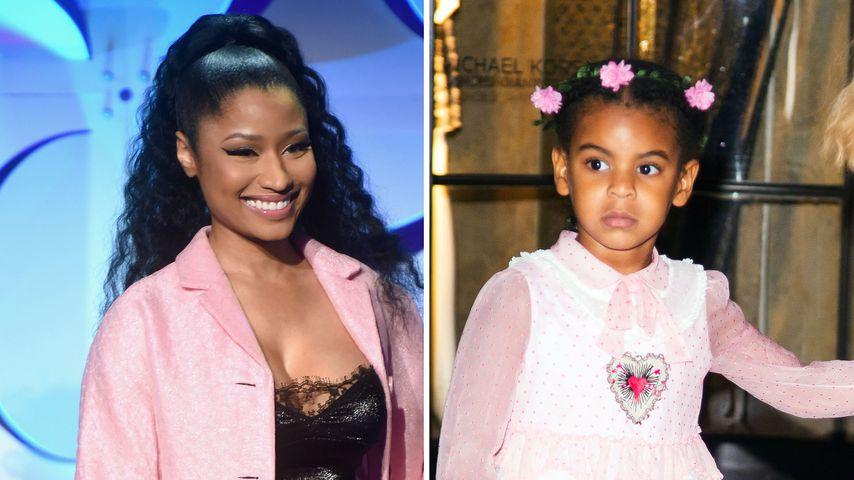 """""""Du wirst eine tolle Schwester"""": Nicki Minaj lobt Blue Ivy"""