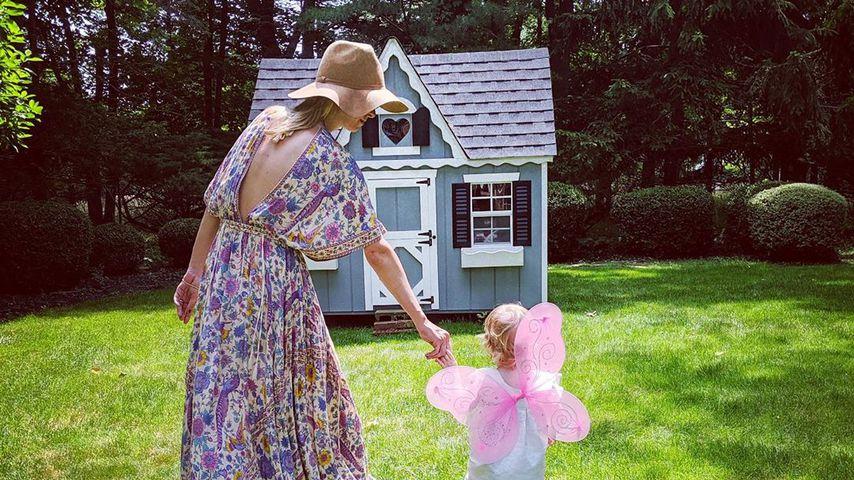 Nicky Hilton mit ihrer Tochter Teddy, Juni 2019