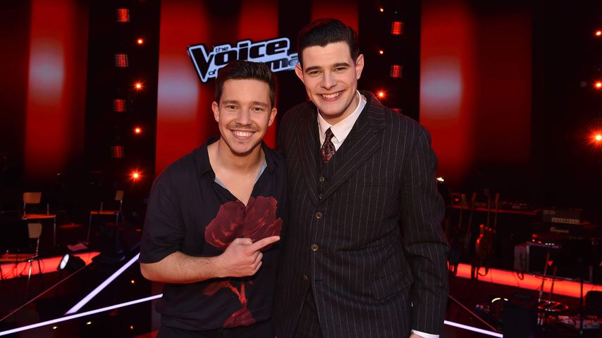 """Nico Santos mit Lucas Rieger, """"The Voice of Germany"""" 2019"""