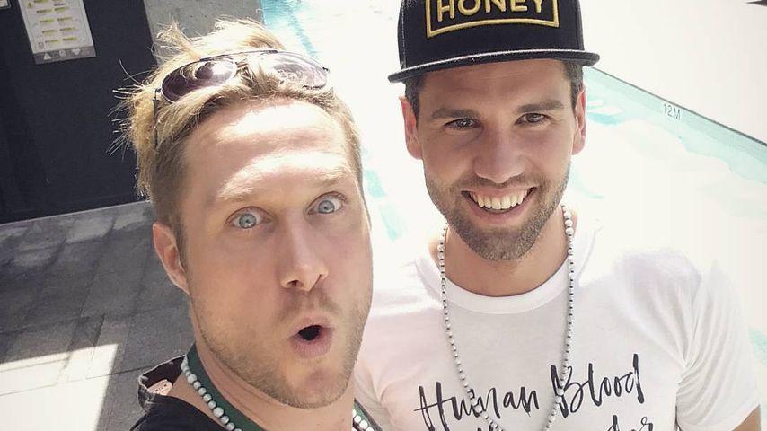 Nico Schwanz und Honey in Brisbane
