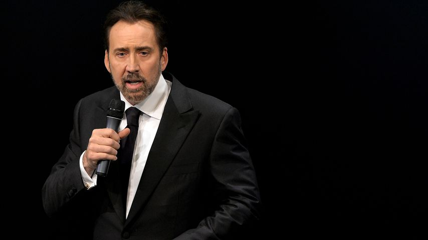 Nicolas Cage beim German Sustainability Award 2016