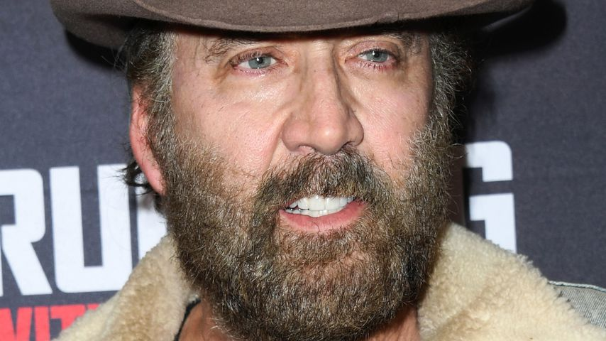"Nicolas Cage bei der ""Running with the Devil""-Premiere in Beverly Hills im September 2019"