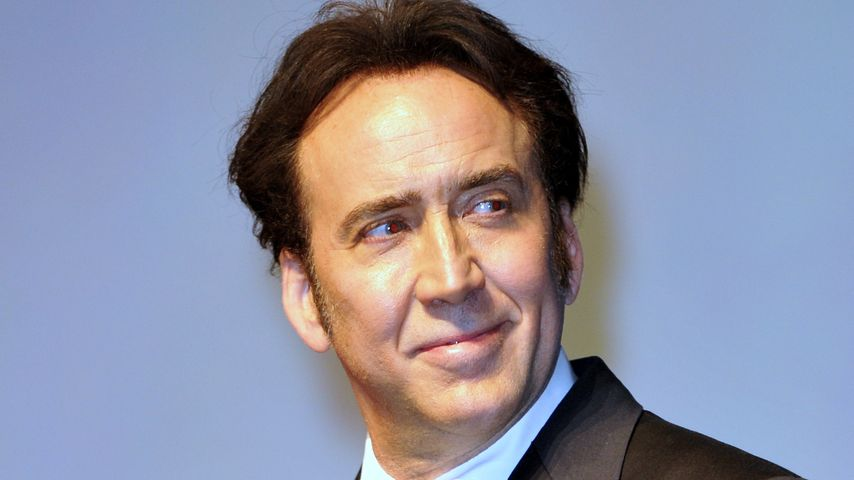 Nachgeholfen? Nicolas Cage mit neuer Haarpracht