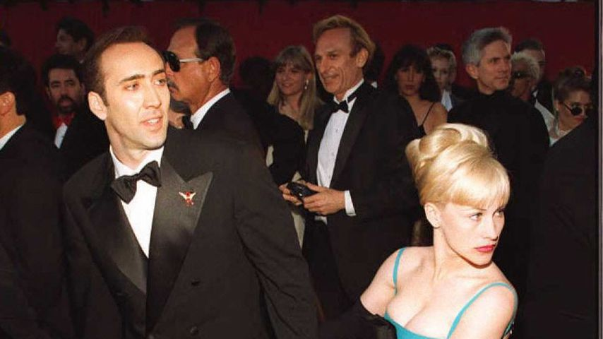 Nicolas Cage und Patricia Arquette bei den Oscars 1996