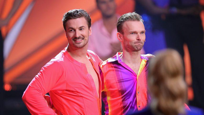 """Nicolas Puschmann und Vadim Garbuzov bei """"Let's Dance"""" 2021"""