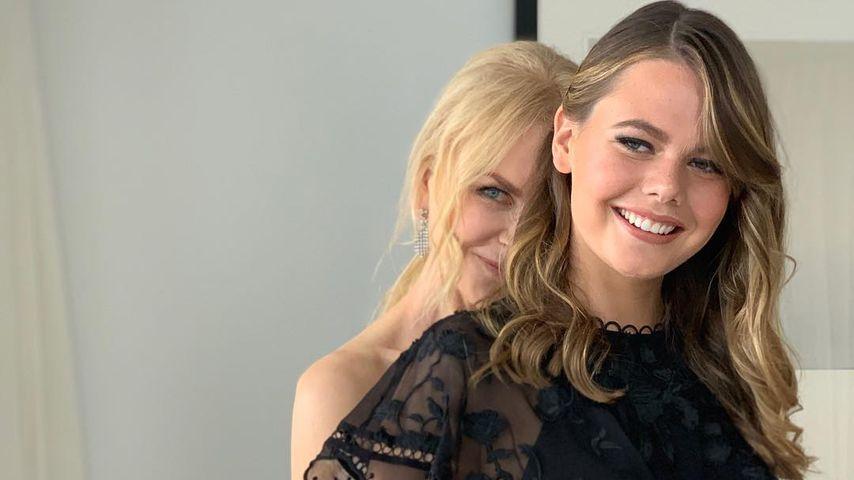 Seltenes Family-Pic: Nicole Kidman zeigt ihre hübsche Nichte