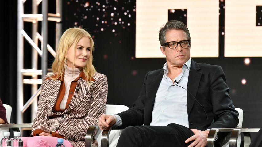 Nicole Nidman und Hugh Grant im Januar 2020